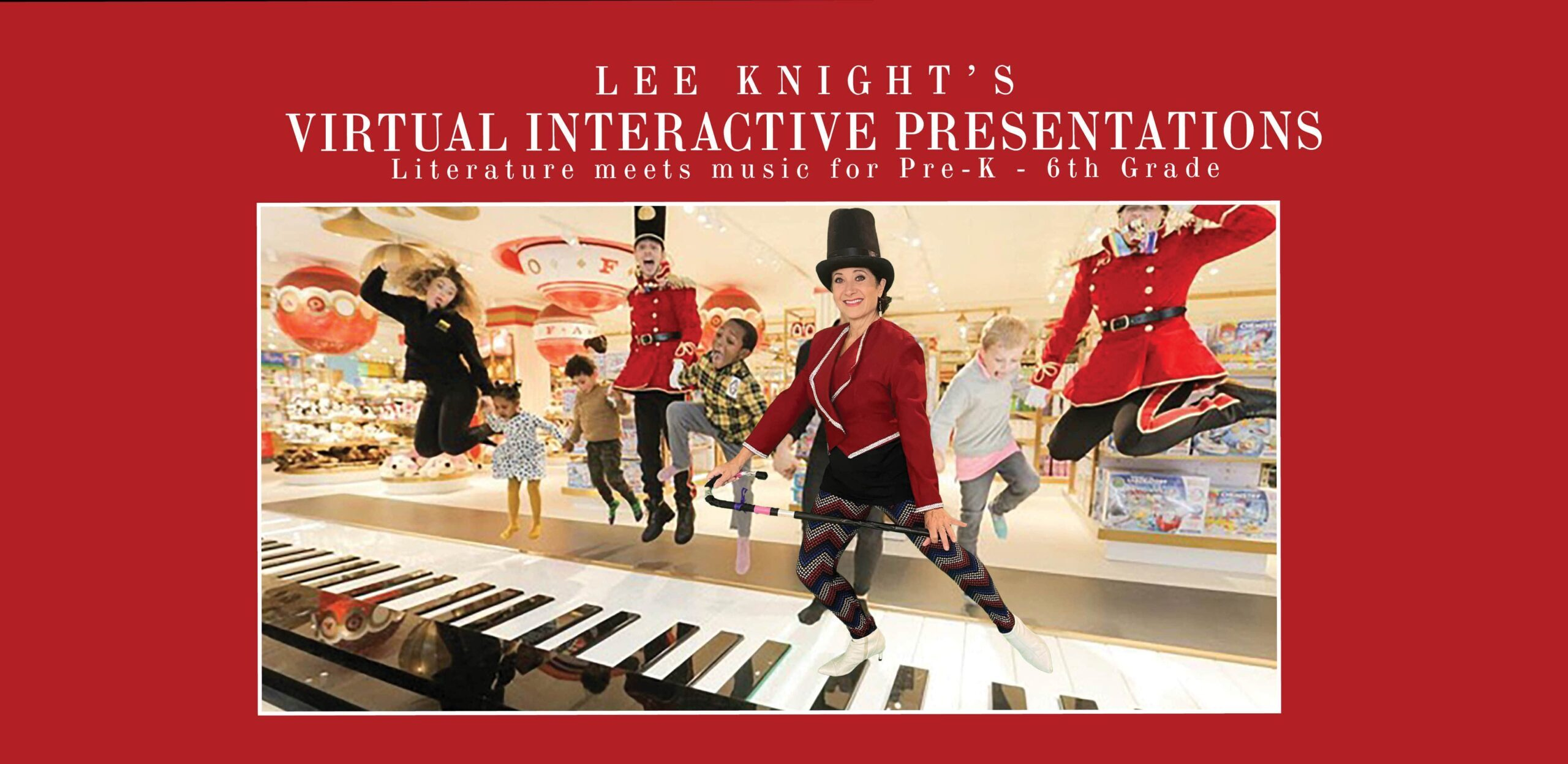 Lee Knight's Interactive Concerts & Virtual Programs
